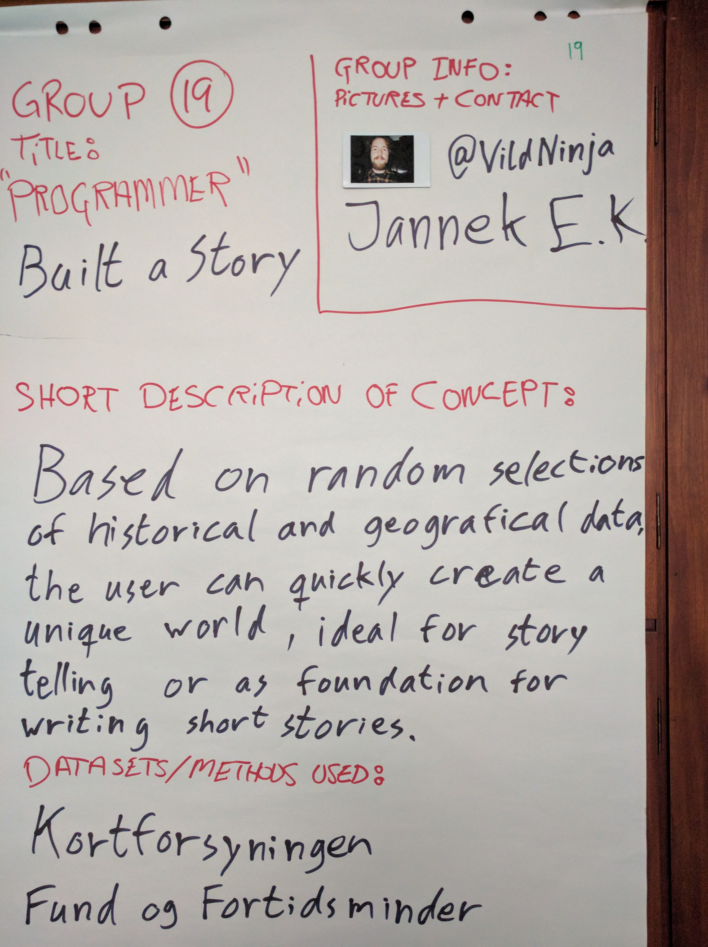 Group 19 – Build a Story | #HACK4DK